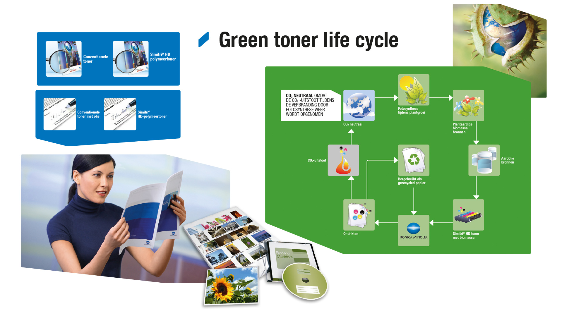 Green toner life cycle